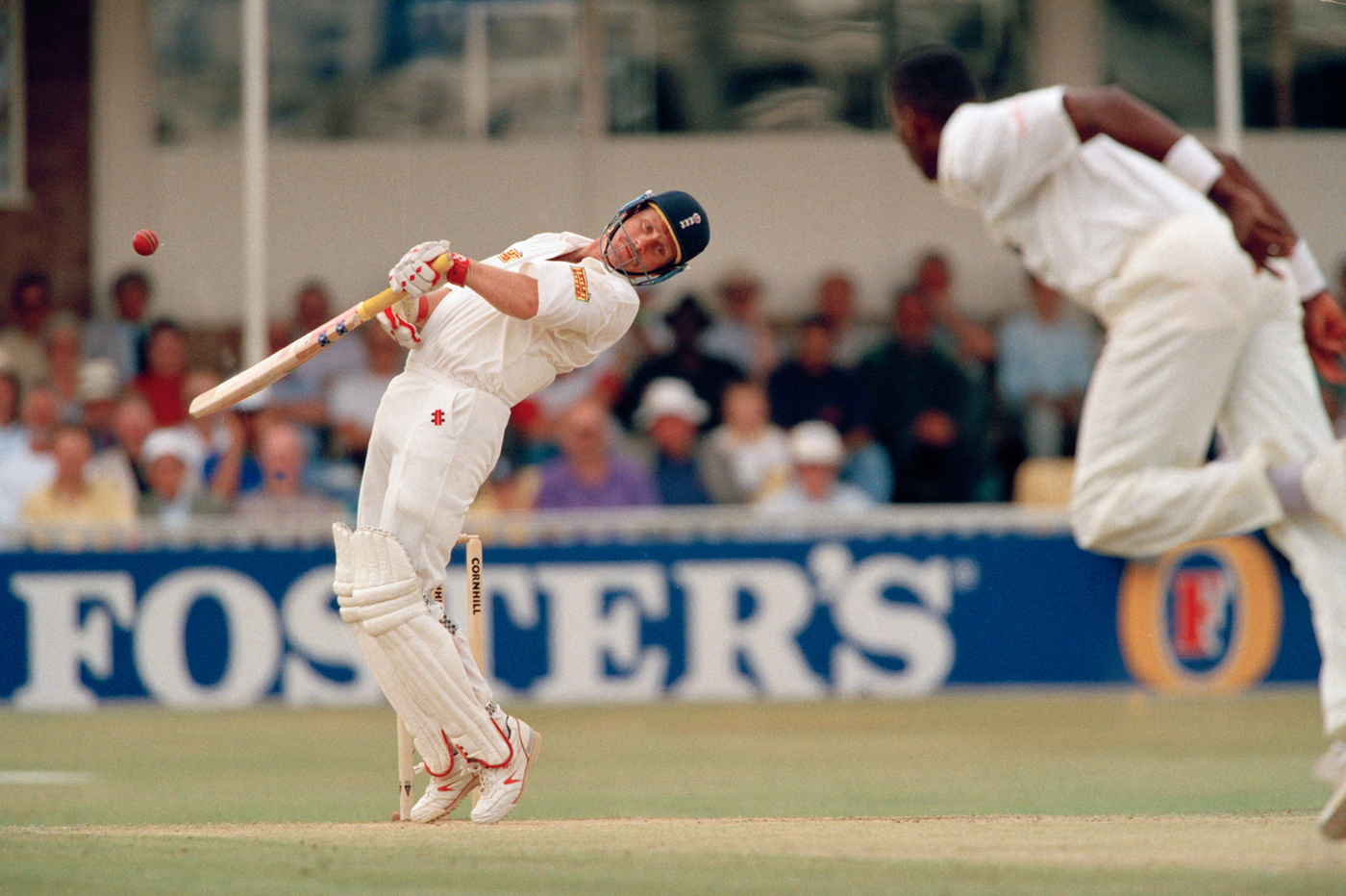 ROBIN SMITH ON HIS JOURNEY FROM THE BACKYARD IN SOUTH AFRICA TO ENGLAND TEST CRICKETER