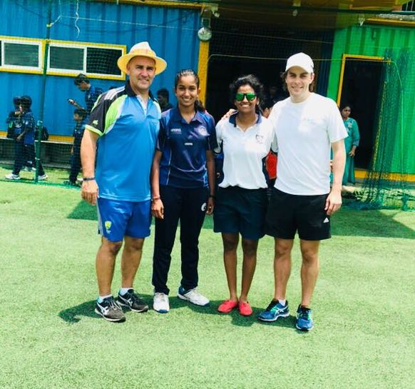 THE SURGE OF WOMEN'S CRICKET WITH FUTURE INDIAN STARS VANITHA VR & LIKHITHA VG