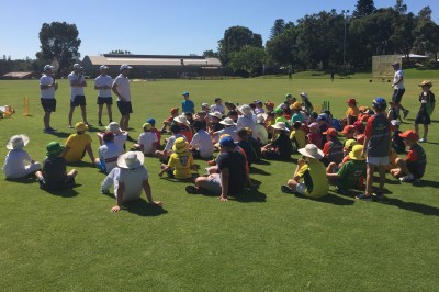 2017 Perth Cricket Clinics - TS Talking